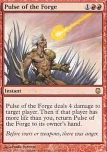 Japanese Pulse of the Forge ~ Lightly Played Darksteel Foreign UltimateMTG Magic