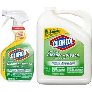 Clorox Clean Up Cleaner Bleach 32oz With 180oz Refill