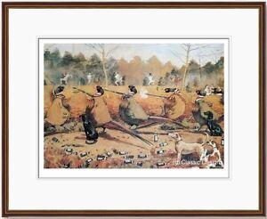 Alexander-Charles-Jones-COCKS-ONLY-FRAMED-Shooting-Pheasant-Game-Birds-Humour