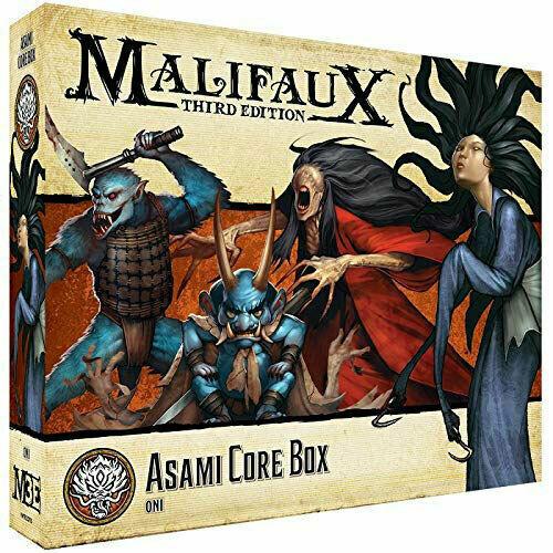 Malifaux Ten Thunders Faction - Asami Core Box