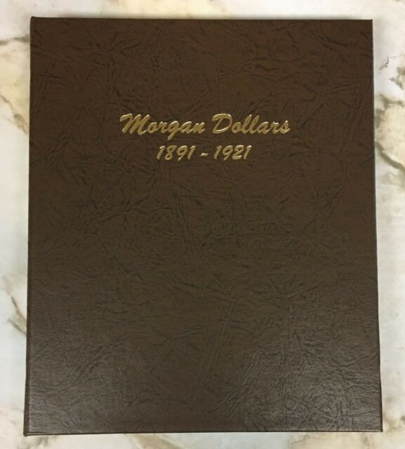 Morgan Dollars Dansco, 8 Coins 1891 1891-S 1896 1900 1902 1921 PDS Silver Dollar