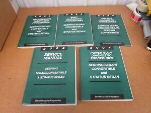 chrysler sebring manual 2004