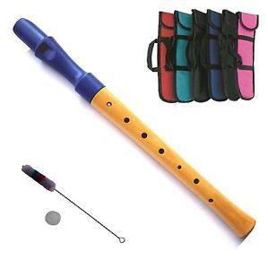Musik & Instrumente Blockflöte Holz