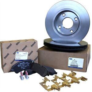 original ford bremsen kit bremsscheiben bremsbel ge set. Black Bedroom Furniture Sets. Home Design Ideas
