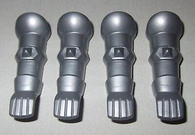 Armschutz 19261 2 Paar silber Armrüstung 4x Rüstung