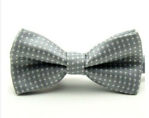 Baby Boy Kid Bow Tie Child Polka Dot Wedding Tuxedo Pre-tied Bowties Necktie