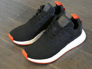 the latest c8760 861c1 Adidas NMD_R2 PK Boost Primeknit shoes sneakers new black ...