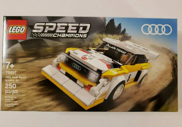 LEGO 1985 Audi Sport quattro S1 Speed Champion 76897 FREE SHIPPING TODAY