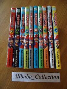 Lote-Manga-VF-Beyblade-Metal-Fusion-Masters-Fury-1-de-11-Completo-Series