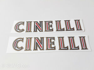 CINELLI-V-1-frame-bicycle-decal-sticker-silk-screen-free-shipping