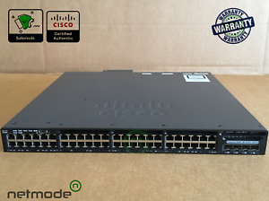 Cisco-WS-C3650-48FS-S-Gigabit-Switch-48-Port-PoE-IP-Base-1025WAC-4x1G-SFP