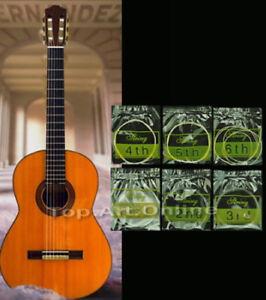 Gitarrensaiten-fuer-Konzert-Klassik-Gitarre-Nylon-Saiten-6er-Satz-Saiten-DOG