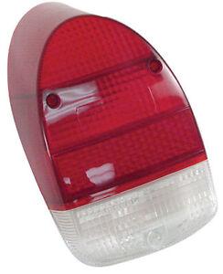 Vw Bug Rear Tail Light Lens 1968 1970 Vw Beetle Red White
