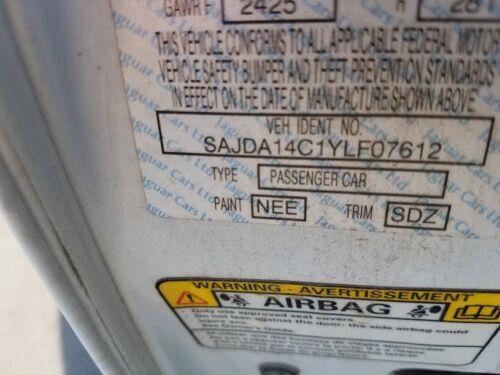 1998 1999 2000 01 2002 2003 JAGUAR XJ8 XJR LEFT REAR EXTERIOR DOOR HANDLE WHITE