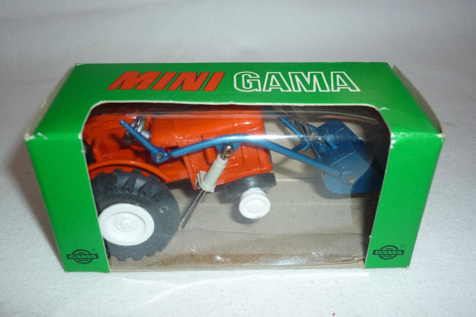 Gama mini - vintage - metall - modell - 940 - fiat - traktor - gama 57)