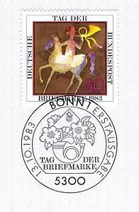 Rfa 1983: Jour Du Timbre Nº 1192 Avec Propre Bonner Cachet Spécial! 1a! 156-afficher Le Titre D'origine Apparence Attractive
