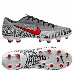 2118383ee82 Nike Mercurial Vapor XII MG Neymar NJR 2019 Silencio Soccer Shoes ...