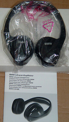 BMW E60 E61 5 F25 X3 E84 X1 E70 X5 E71 E72 X6  OEM Infrared Headphones Unit New