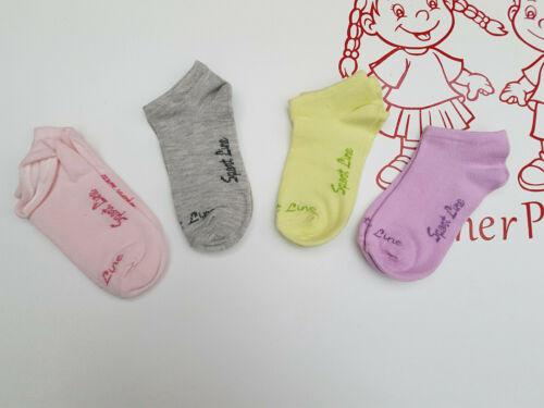 Sneaker Socken 4er Pack 23-26 27-30 31-34  35-38
