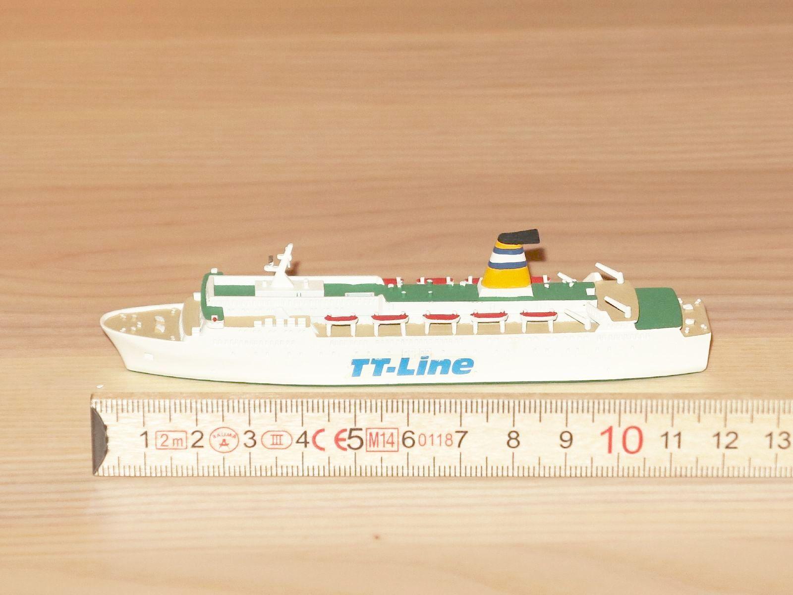 Hansa JJ-line bateau à vapeur paquebot  1 1250 en excellent état  forme unique