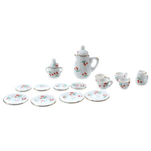 Set-of-15pcs-1-12-Dollhouse-Miniature-Dining-Ware-Porcelain-Tea-Set-M4D5