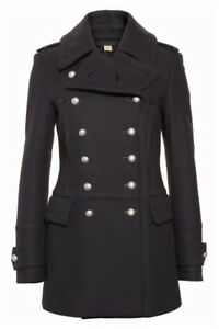1395-Burberry-London-Milbridgen-Wool-Military-Navy-Pea-Coat-Jacket-8-42-Peacoat