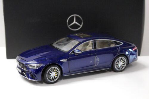 Blue dealer New en Premium-modelcars 1:18 norev Mercedes AMG GT 63 s 4 matic