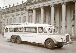 1002HN-Henschel-35W3-Modell-1935-Omnibus-Bus-Postkarte-1985-picture-postcard