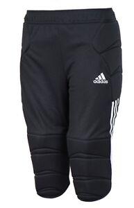 09fccc8df9c Adidas Men Tierro 13 Goalkeeper Pants 3 4 Soccer Black GK Football ...