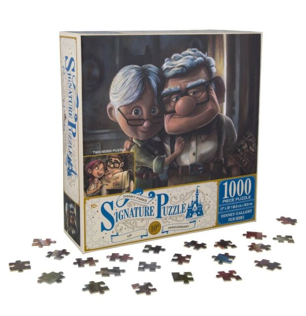 Disney Parks Signature Puzzle 10th Up 1000 Pcs Puzzletwo Sided Carl
