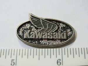 Yamaha Suzuki Kawasaki Boxed Japanese Motorbikes pin badge set