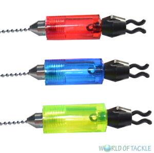 Bite-Indicators-Bobbins-Hangers-Drop-Off-Swingers-Carp-Fishing-Set-Of-3