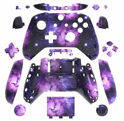 brand new xbox one s controller purple galaxy custom