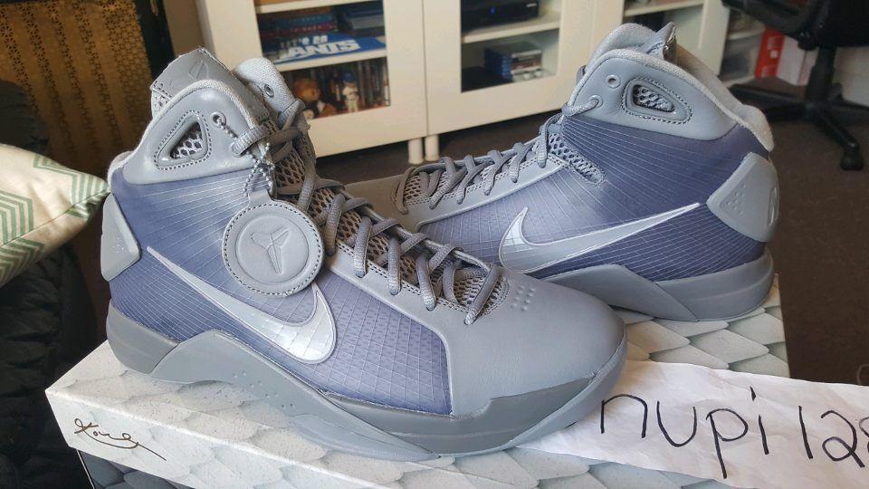 Nike Hyperdunk '08 Kobe FTB Fade To Black Beijing Stealth Cool Grey 869611-001