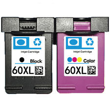 2PKs Compatible HP 60 XL Ink Cartridge CC640WN CC643WN For Deskjet F4200 F4230