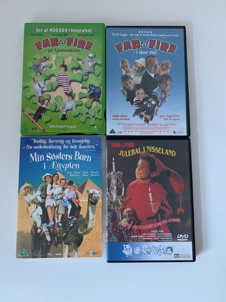 Blandet dvd'er, DVD, familiefilm