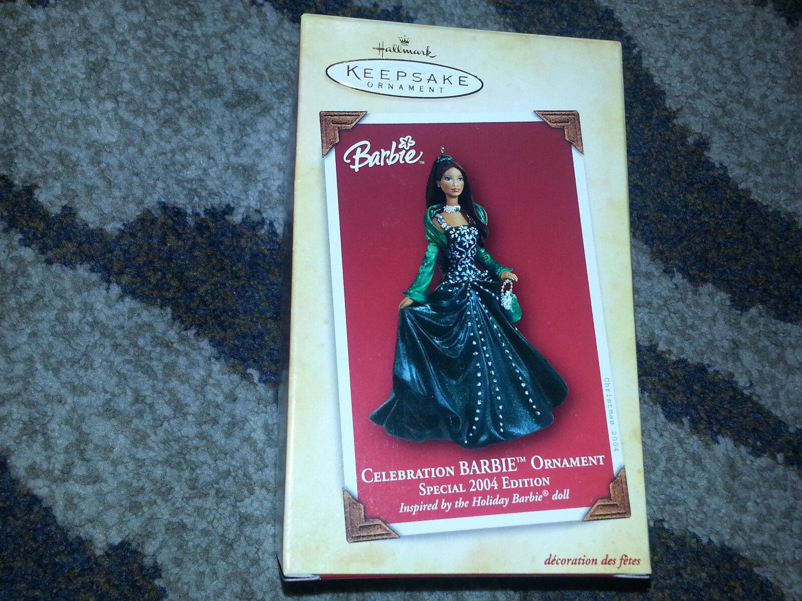 Htuttimark Ricordo 2004 Celebrazione Barbie Africano  Americana Natale Ornamament  prima i clienti