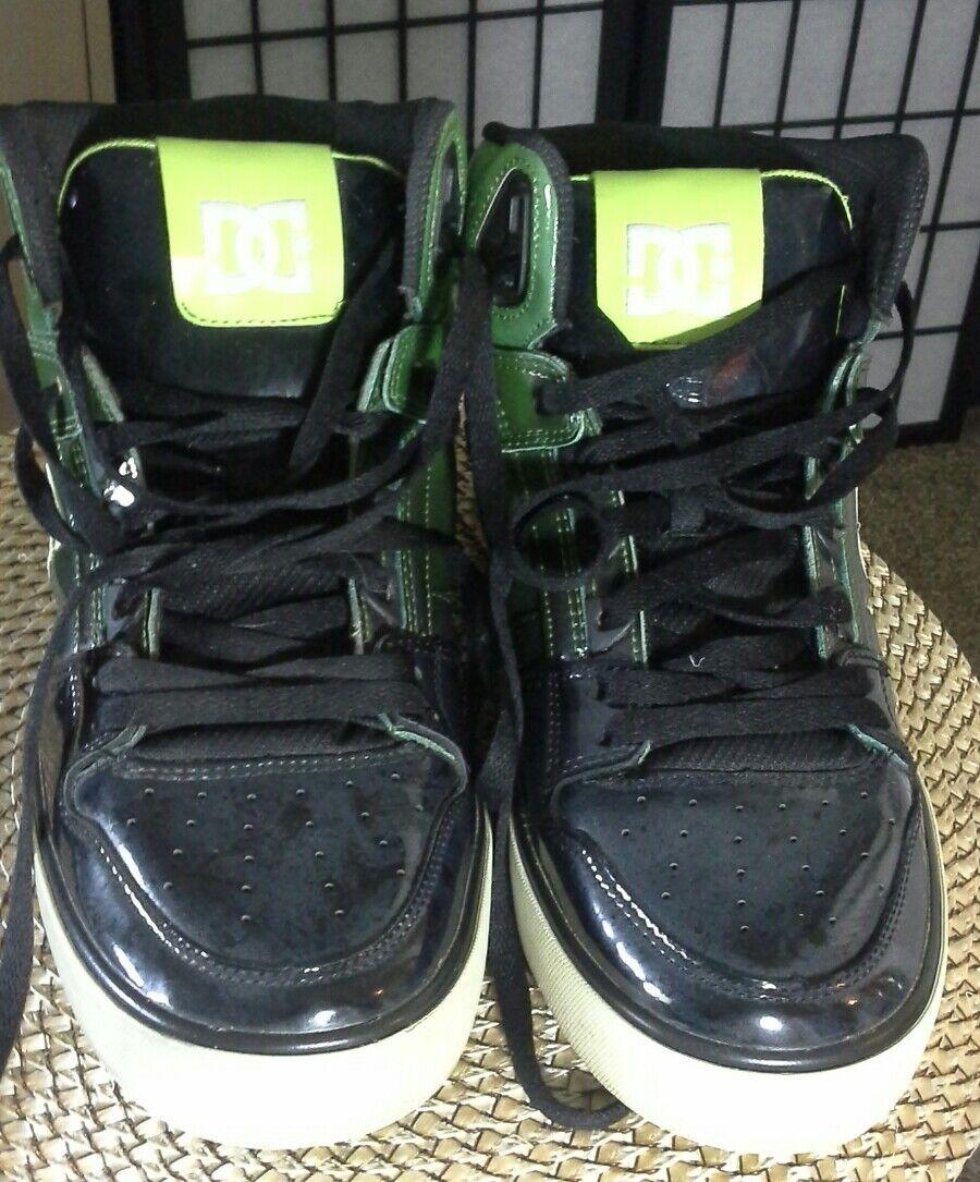 DG Men's  Sneakers 303358 Sz 11, Black and Green