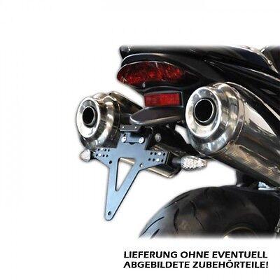 Kennzeichenhalter Heckumbau Triumph Speed Triple verstellbar adjustable tail