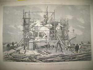 2070-ARC-DE-TRIOMPHE-CHANTIER-FALGUIERE-EGYPTE-PENDAISON-L-039-ILLUSTRATION-1882