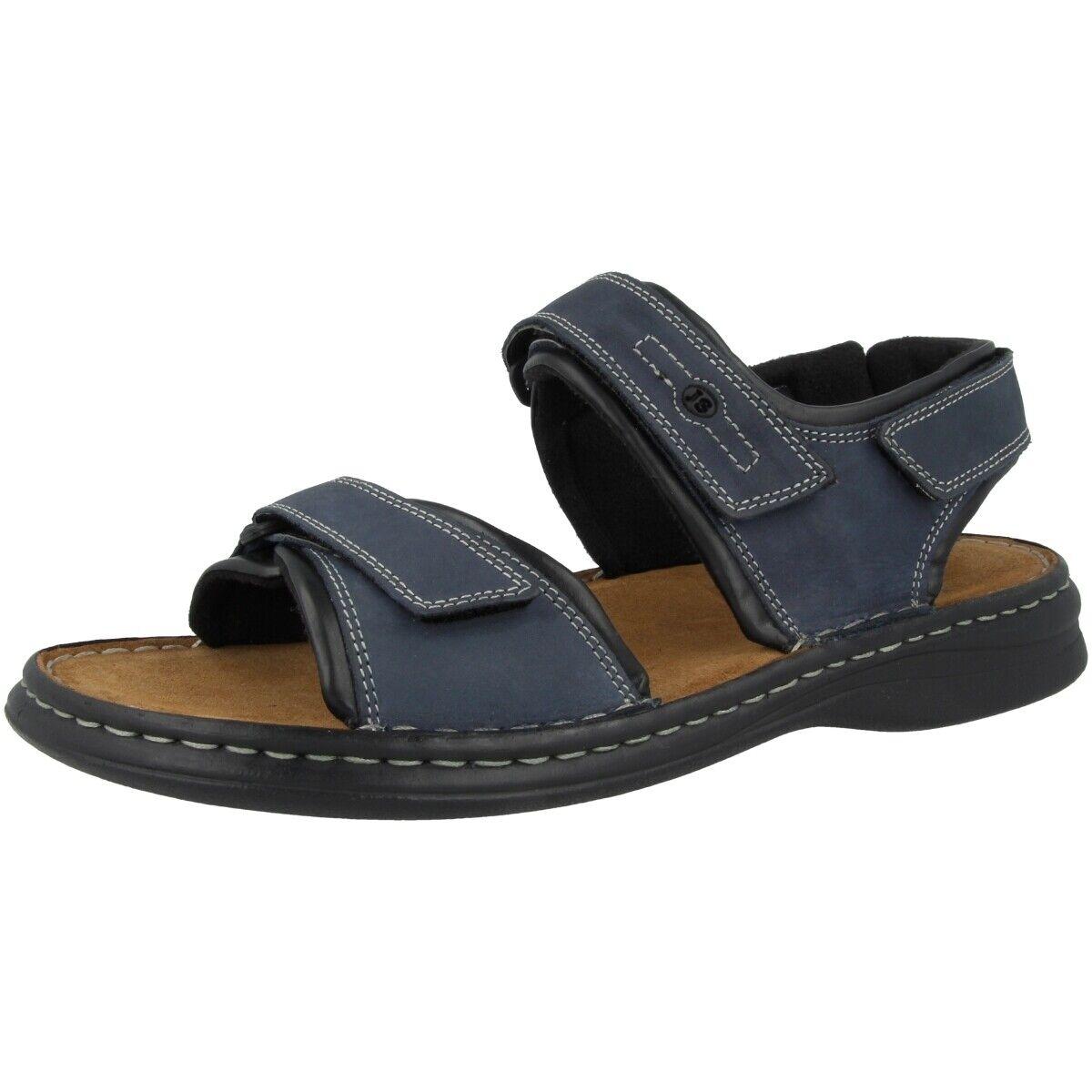 Josef Seibel Rafe Chaussures Homme Sandales Confort Cuir Sandales 10104-11-582