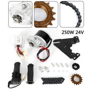 24V 250W DIY Electric Bicycle Motor Kit 22-28IN Motor Conversion Kit CA