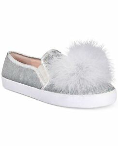 026c059c68bc Kate Spade Latisa Sequin Feather Pom-Pom Sneaker sz 8 100% Authentic ...