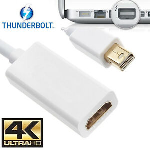 Mini DisplayPort DP MDP to HDMI Cable Adapter Converter For Mac PC HDTV AUDIO