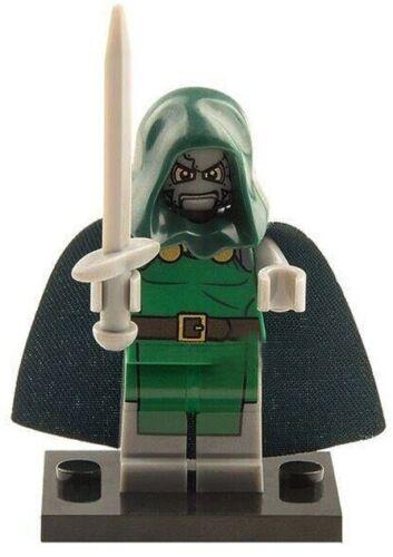 DR DOOM FANTASTIC 4 FIGURE MINI Building Blocks PLAY WITH LEGOS USA SELLER NIP