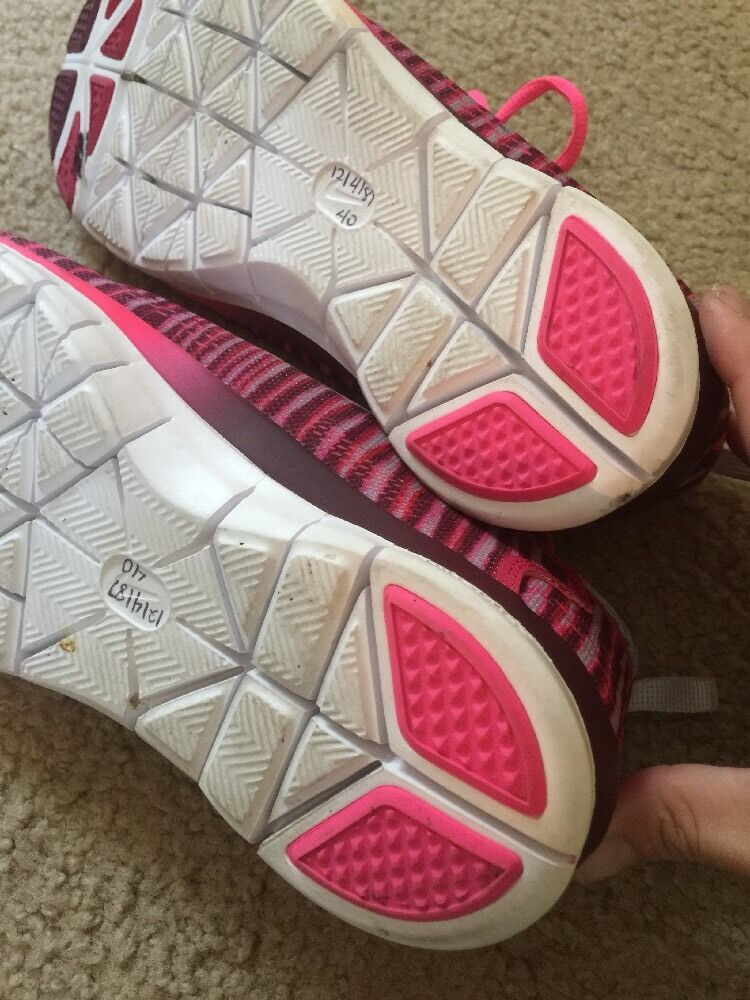 new york 9ee54 52049 ... Excellent Women s Nike Free Cross Training Shoes Fit 4 4 4 5.0 Fuchsia  Force 10 614814 ...