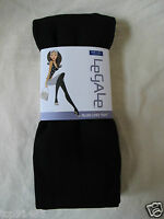Legale_plush Lined Tights In Expresso (l/xl)