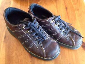 Doc-Martens-Men-039-s-7-Women-039-s-8-9764-Brown-Leather-2000-039-s-DM-039-s-Shoes
