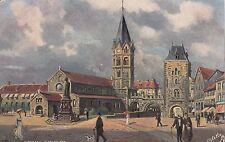 Eisenach AK alt Karlsplatz Tuck's Oilette Künstler Thomas Thüringen 1702239