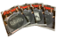 "miniatuur 1 - Motorhead - 4 exclusive 7"" Picture Vinyl  40th Years Ace of Spades + 4 Metal Mag"